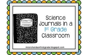 Using science journals in the classroom is a great way to integrate writing into science AND assess learning. Check out these fun, engaging ways to use interactive notebooks in a first grade classroom.