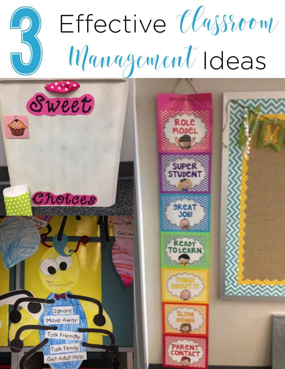 These 3 ideas are easy, effective, and help students be responsible for their choices! I love that they all focus on positive ways to handle situations and praise! #ClassroomManagement #TeacherTips