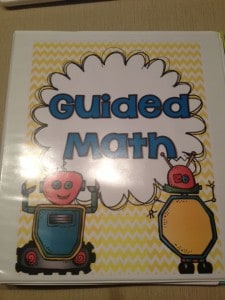This guided math binder has everything you need to get your groups started!