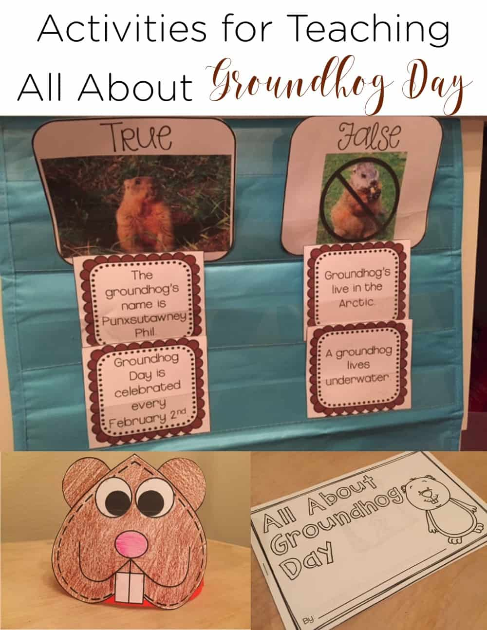 Groundhog Day is an exciting time for little learners! Teach them about why we celebrate this day, what a groundhog is, and the history behind the holiday! #GroundHogDay #FirstGrade