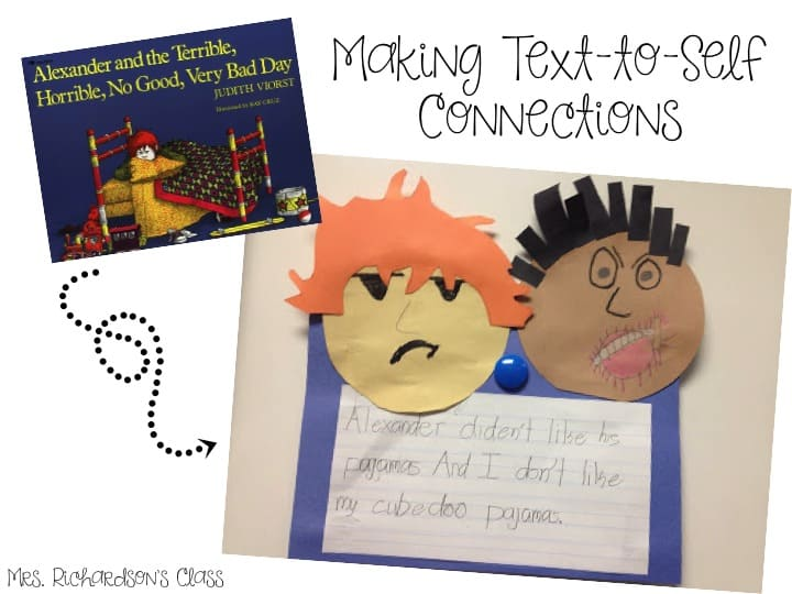 Teaching students how to make connections is one of the first skills I teach. Using interactive read alouds to do this is the perfect opportunity to engage learners and get them thinking!