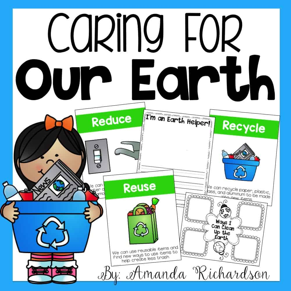 These Earth Day activities are perfect for first grade and kindergarten students as you celebrate the day!