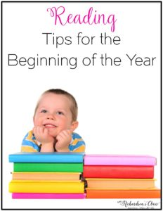These 3 tips for the beginning of the year are sure to start reading off on the right foot! There's an anchor chart, ideas for read alouds, and a FREEBIE poster! #beginningoftheyear #readingteacher #kindergarten #firstgrade