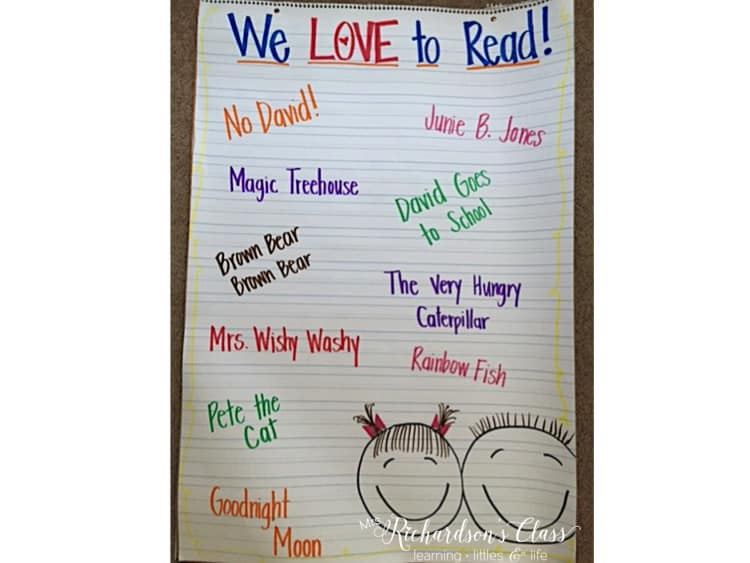 This anchor chart is perfect for the beginning of the year as you conquer back to school reading!
