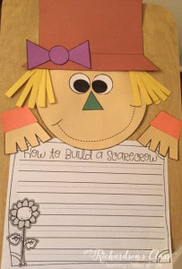Scarecrow Writing Craft with a Purpose