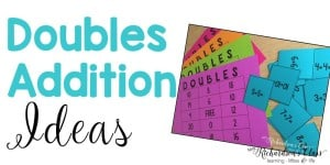 Doubles Addition Teaching Ideas