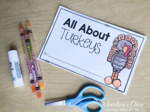 All About Turkeys Unit