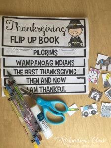 Thanksgiving Flip Up Book