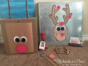Reindeer Holiday Party FREEBIES