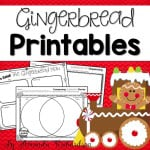 Gingerbread Printables, including a gingerbread hunt!