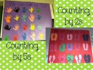 Skip Counting Anchor Chart