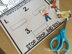 Fire Safety Activities for Kindergarten and First Grade. Students will love how different and engaging this is!