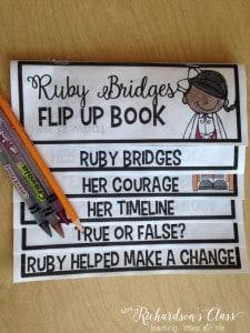 Ruby Bridges Activities for kindergarten and first grade