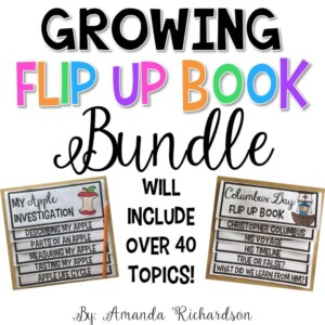 Flip Up Books Bundle that students and teachers are loving!