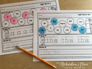 Do your students struggle with sight words? Here are 4 Simple Tips to Help Make Sight Words Stick, plus a FREEBIE!
