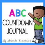 ABC Countdown Journal FREEBIE-Great activity to keep your little ones engaged through the end of the school year! Read more about the fun countdown activities that are simple to implement!