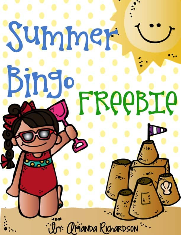 Summer Bingo is a fun game that my students enjoyed playing at our end of year party! I love that parent can run the game while I help wrap up things in my classroom!