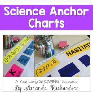 Science anchor charts that are sure to engage your students! Every concept possible is covered, too! Anchor charts are a wonderful learning tool in the classroom!