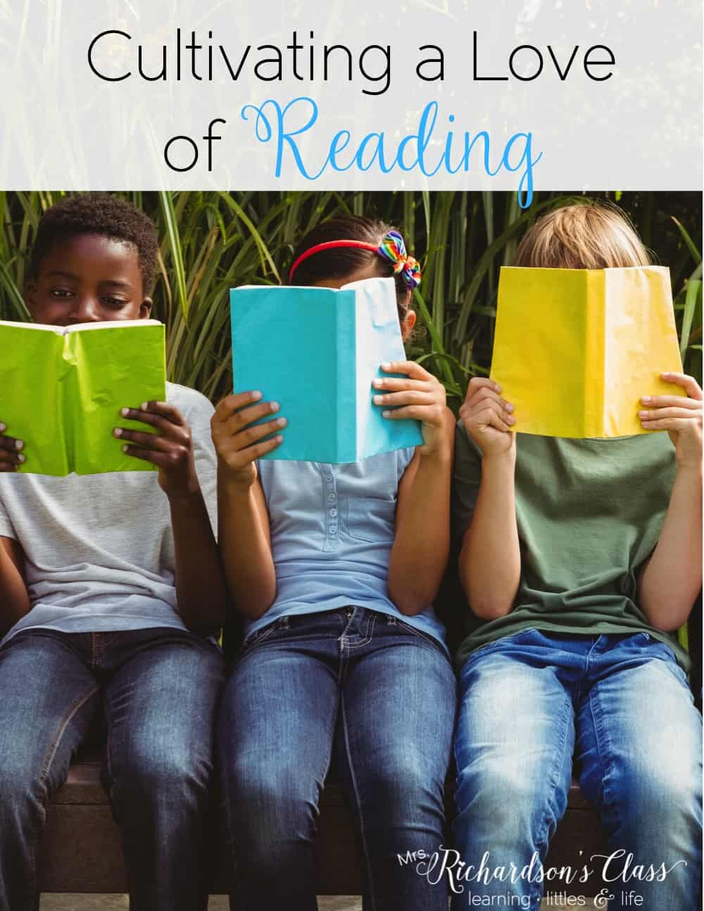 Cultivating a love of reading in your classroom is so important for students, especially when you are trying to teach them how to read. Read these simple tips that any teacher can do and grab the parent handout freebie so they can help cultivate a love of reading, too!  #loveofreading #read