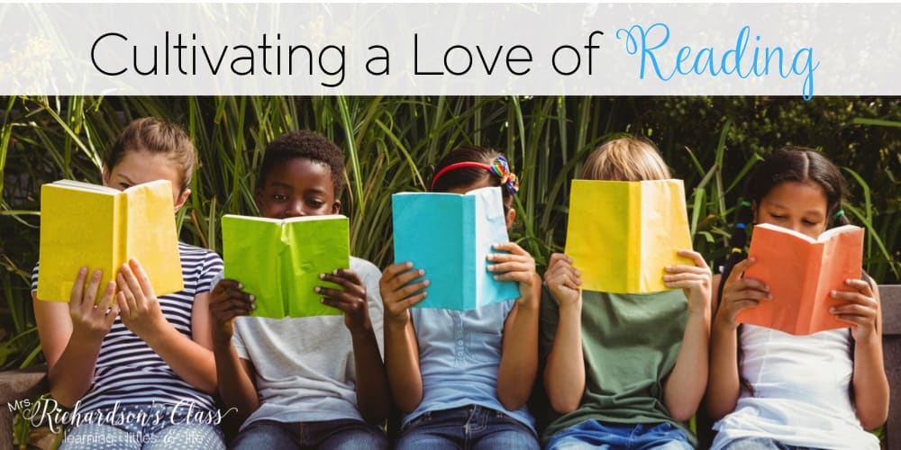 Cultivating a love of reading in your classroom is so important for students, especially when you are trying to teach them how to read. Read these simple tips that any teacher can do and grab the parent handout freebie so they can help cultivate a love of reading, too!