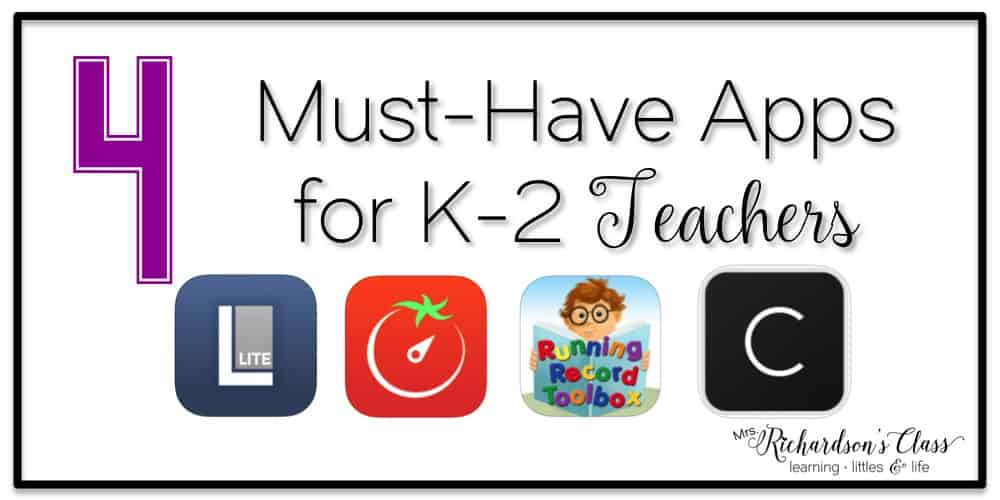 There are tons of great apps for students to use, but what about apps for teachers to use as they are teaching? This short group of 4 apps are definitely must-haves for any elementary teacher! #teacherapps #classroommanagement