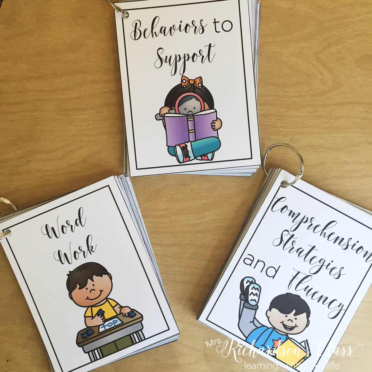 These FREE guided reading resource cards are perfect for helping you target the right skills for each guided reading level.