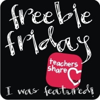 Freebie Friday…Link Up!