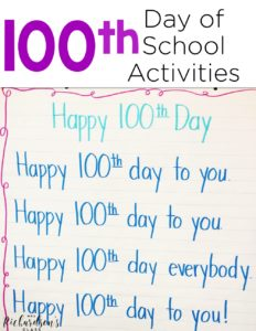 Be set for the 100th day of school with these 100th day of school activities! Grab the FREE resources that are perfect for kindergarten and first grade students!