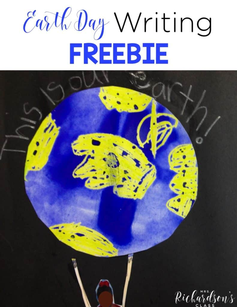 Earth Day Writing Freebie!