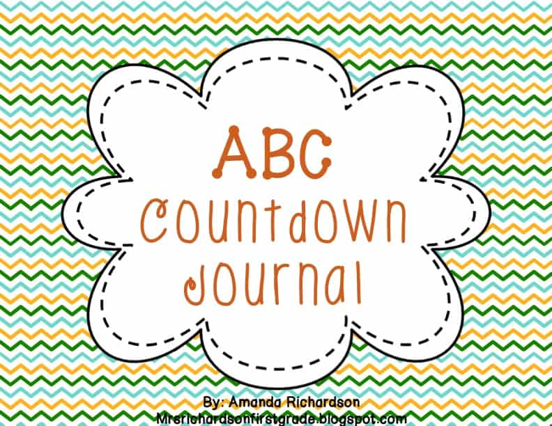 ABC Countdown FREEBIE!