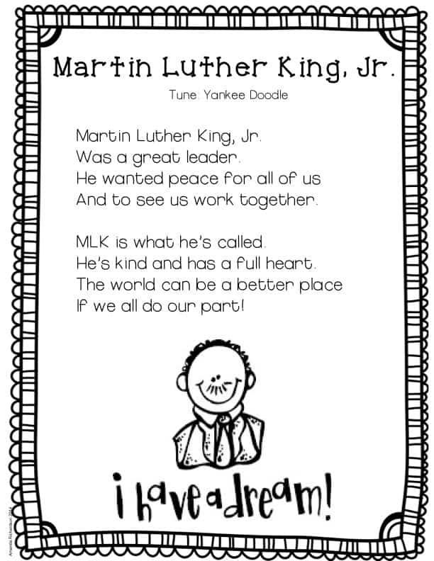 MLK Poetry FREEBIE!