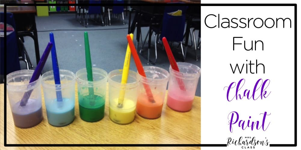 Are you looking for a fun, simple, and engaging way to take learning outdoors? Check out this recipe for chalk paint! It's so easy to make and the possibilities are endless for your little kindergarten and first grade students!