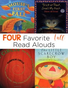 These fall read alouds are perfect for an interactive read aloud lesson! They easily integrate science concepts while also being able to touch comprehension strategies.