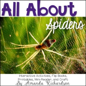 These spider activities are great for comparing spiders to insects, learning about different types of spiders, and integrating it into reading! This spider unit has everything you'll need - anchor charts, science journal ideas, writing activities, posters, printables, and more! #spiderunit #spiderscience #kindergarten #firstgrade #secondgrade #homeschool