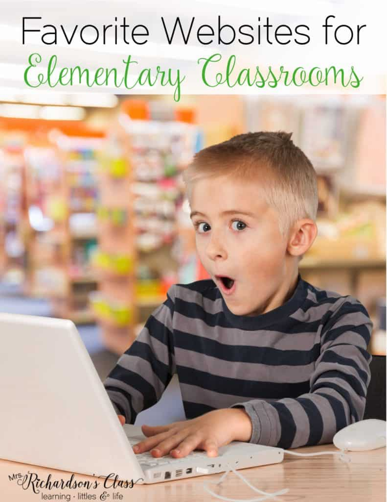 Favorite websites for kids to use in the classroom. We love the 2nd one so much!!