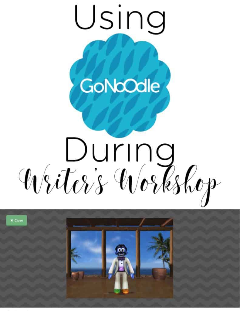 My students LOVE GoNoodle! We love using it as a brain break in the classroom during writer's workshop! Check out how you can, too! #brainbreaks #WritersWorkshop