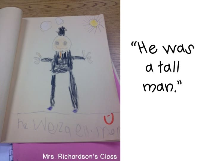 This Abraham Lincoln journal writing is absolutely perfect for Kindergarten writing!