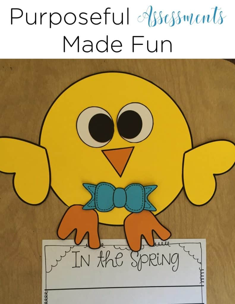 Using Crafts as Purposeful Writing Assessments is a unique spin! I love how this teacher uses these crafts!
