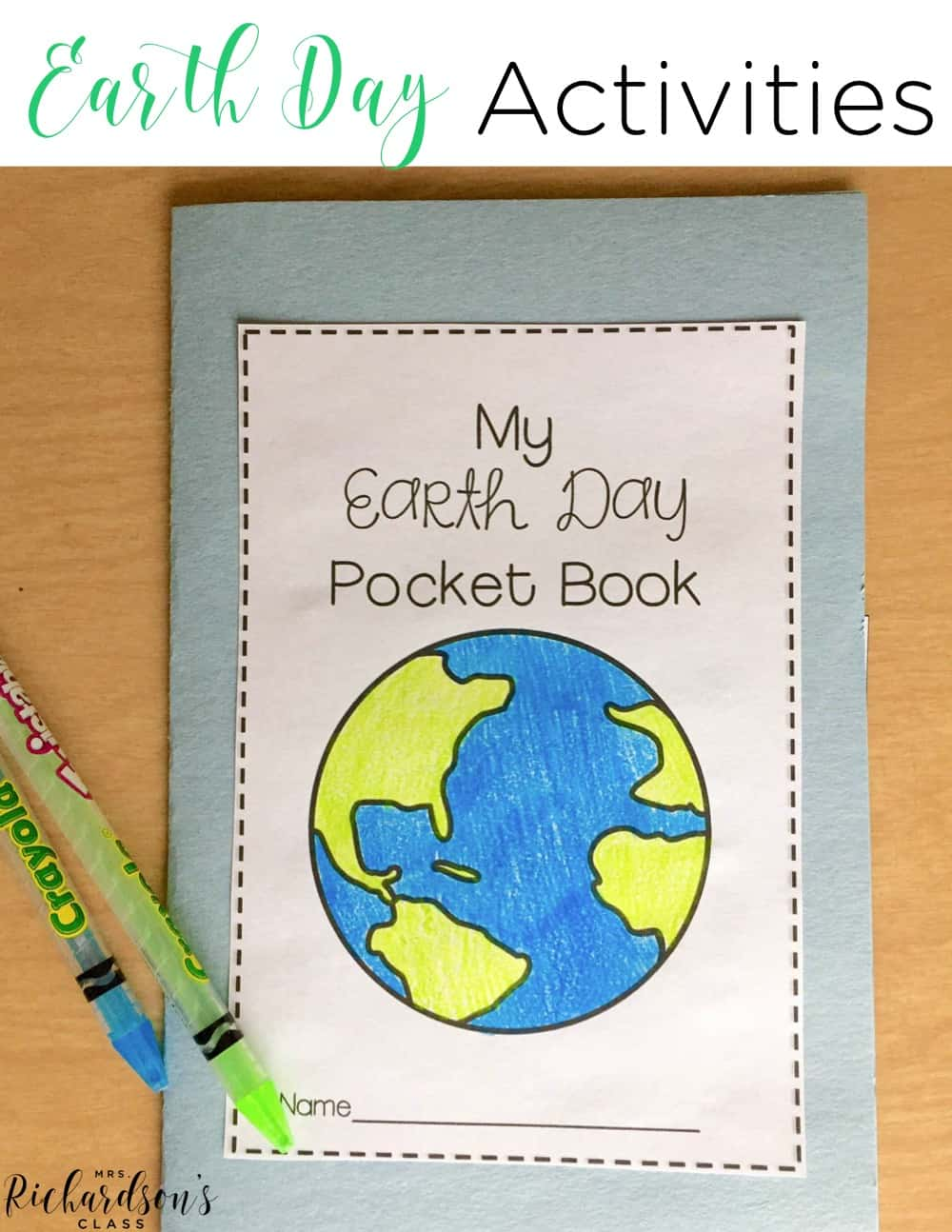 These earth day activities are engaging, interactive, and perfect for your first grade and kindergarten students! They include a unit plan, lesson plan tips, help integrate reading and writing, and are sure to be fun for your learners! Everything is laid out! #earthdayactivities #homeschool #kindergarten #firstgrade #earthday