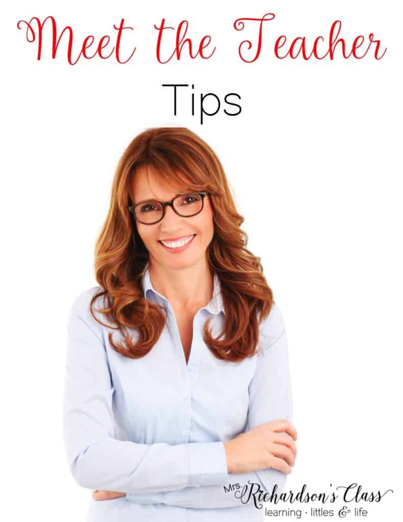 Meet the Teacher Tips that are perfect for new and veteran teachers as they head back to school!