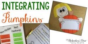Integrating Pumpkins in k-2