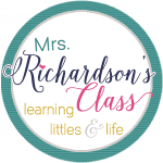 Mrs. Richardson's Class Blog Button