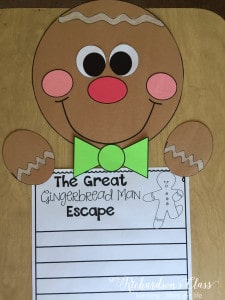 Gingerbread Writing and Craft