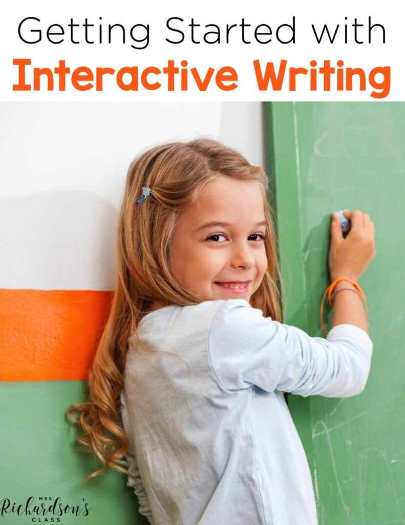 Interactive Writing in the Classroom