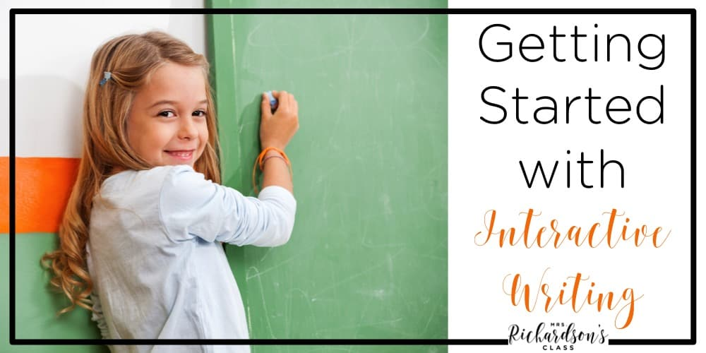 Interactive Writing is an important element in balanced literacy! It is simple to implement and can be engaging for alls students! See everything you need to know to get started!