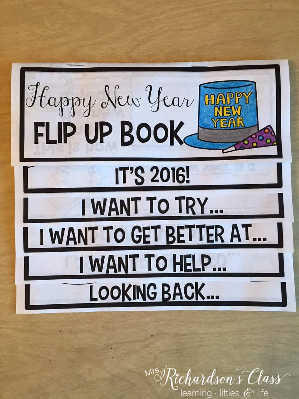 New Years Activities for the Classroom
