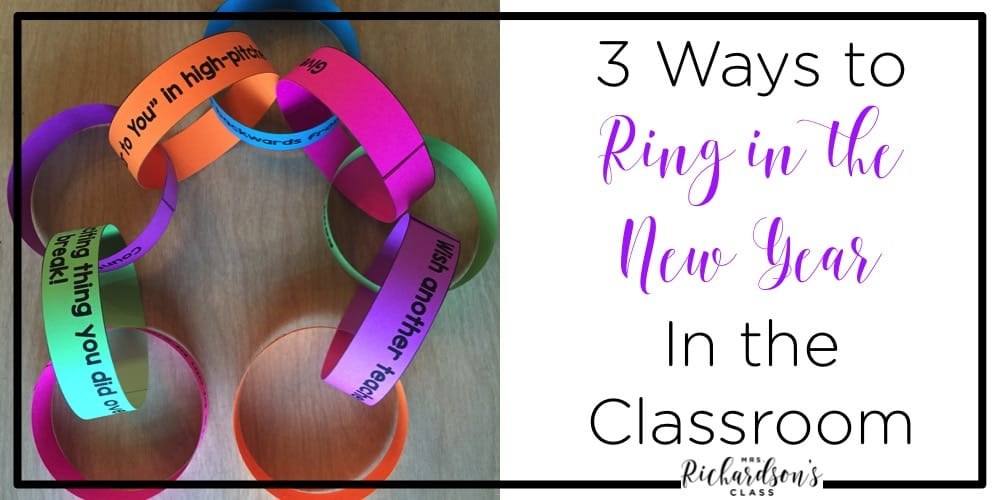 If you are looking for some fun ways to celebrate the new year and set some goals in the classroom, this FREEBIE is perfect for your classroom!