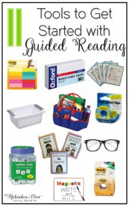 These 11 tools are a must-have for guided reading! They are everything you need to get started and keep groups running smoothly! I love the explanations that she shares for each of them, too!