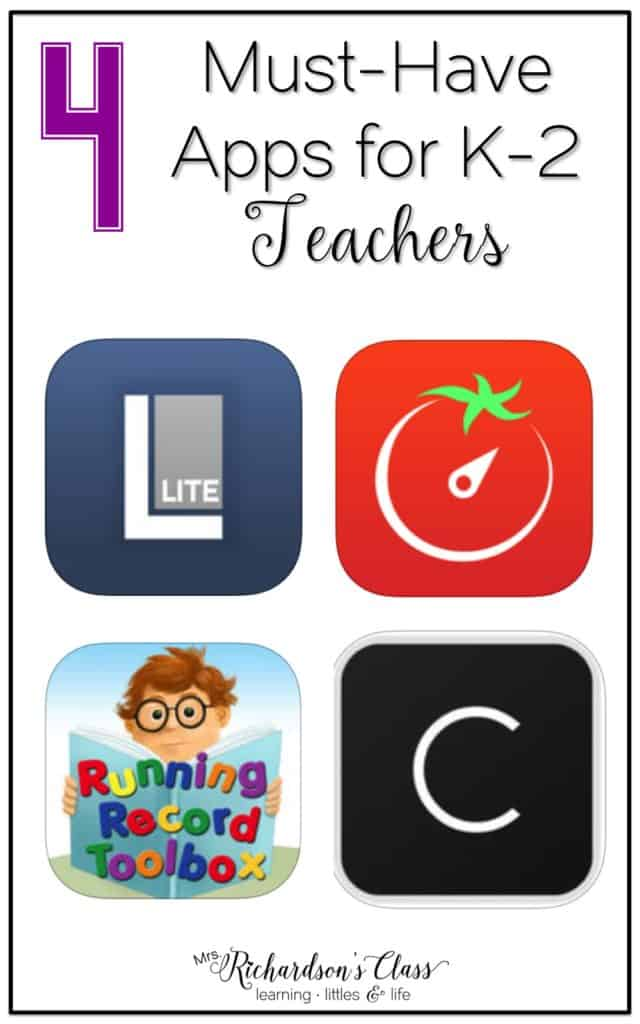 4 Must-Have Apps for Elementary Teachers