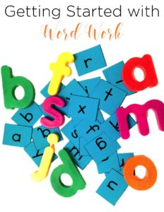 Word Work is an important part of the balanced literacy approach to reading. See how this teacher does word study in her kindergarten and first grade classroom, see her favorite resources, and grab the freebie!